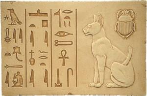 Божественные кошки в Древнем Египте.