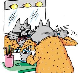 запах изо рта у кошек