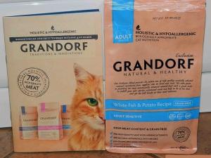 Корм для кошек GRANDORF - обзор, отзывы, рекомендации