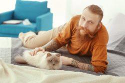 Творческий конкурс в instagram от Кота-Обормота к мужскому празднику на тему «Мой мужественный кот»