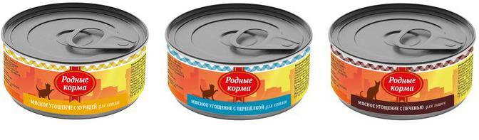 Обзор консервированного корма «Родные корма»