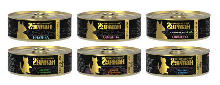 Обзор консервированного корма «Четвероногий гурман» - не все то золото, что блестит