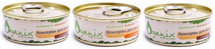 Обзор консервированного корма Organix
