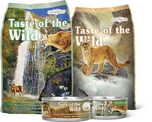 Обзор сухого корма Taste of the wild