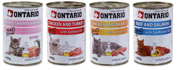 Обзор консервированного корма Ontario