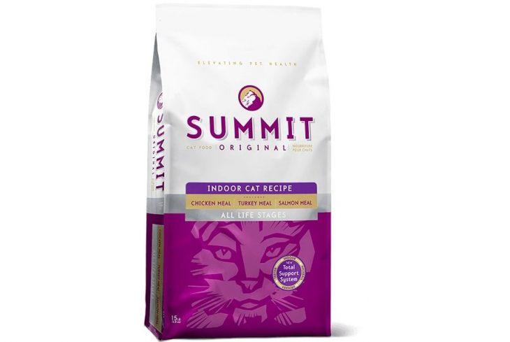 Обзор сухого корма для кошек Summit