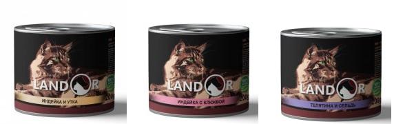Обзор влажного корма Landor
