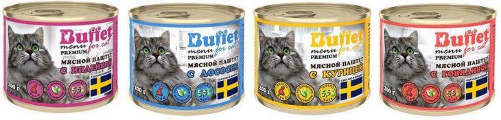 Обзор консервированного корма Buffet